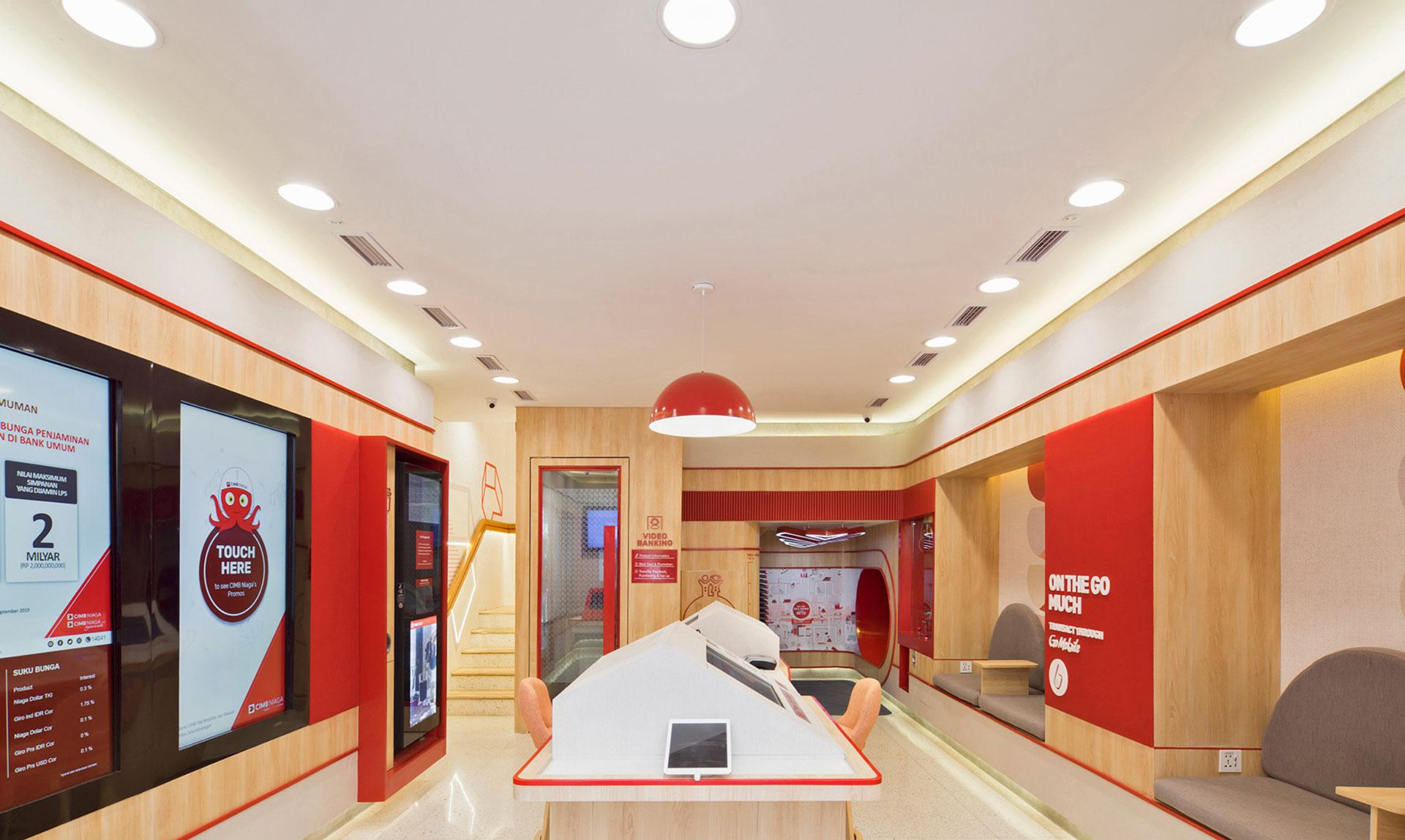 CIMB Niaga Digital Lounge at Home
