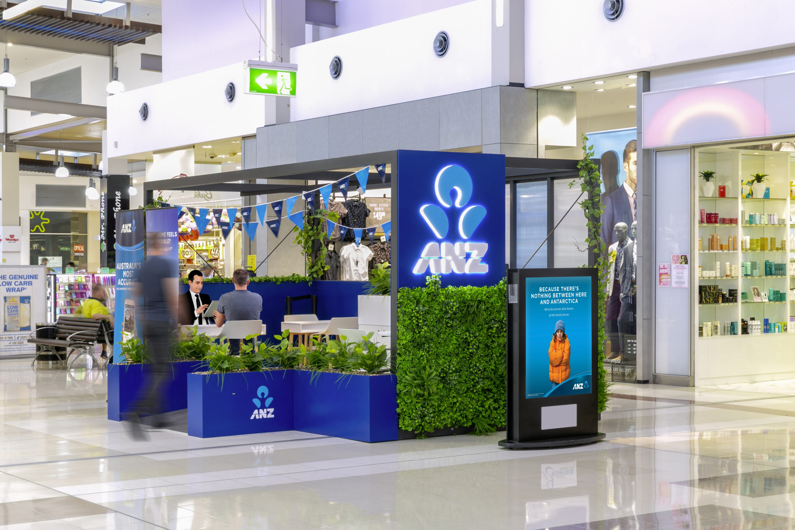 ANZ Rolls Out First Ever Portable Pop-Up Branch
