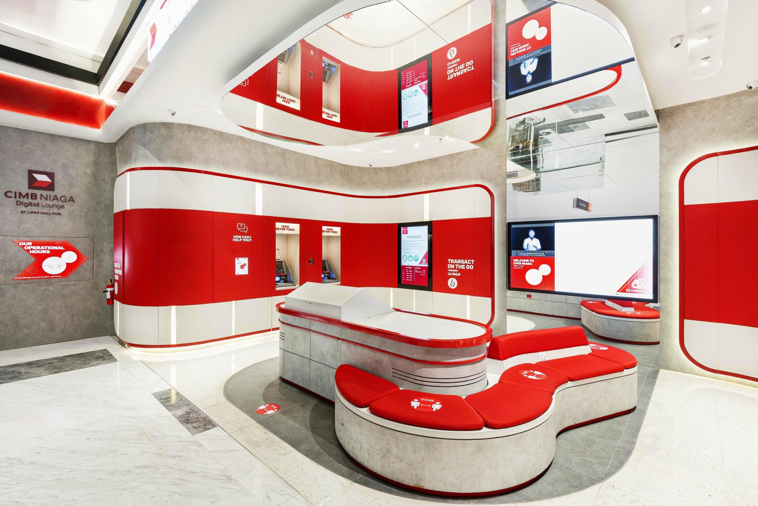 CIMB Digital Lounge Facelift